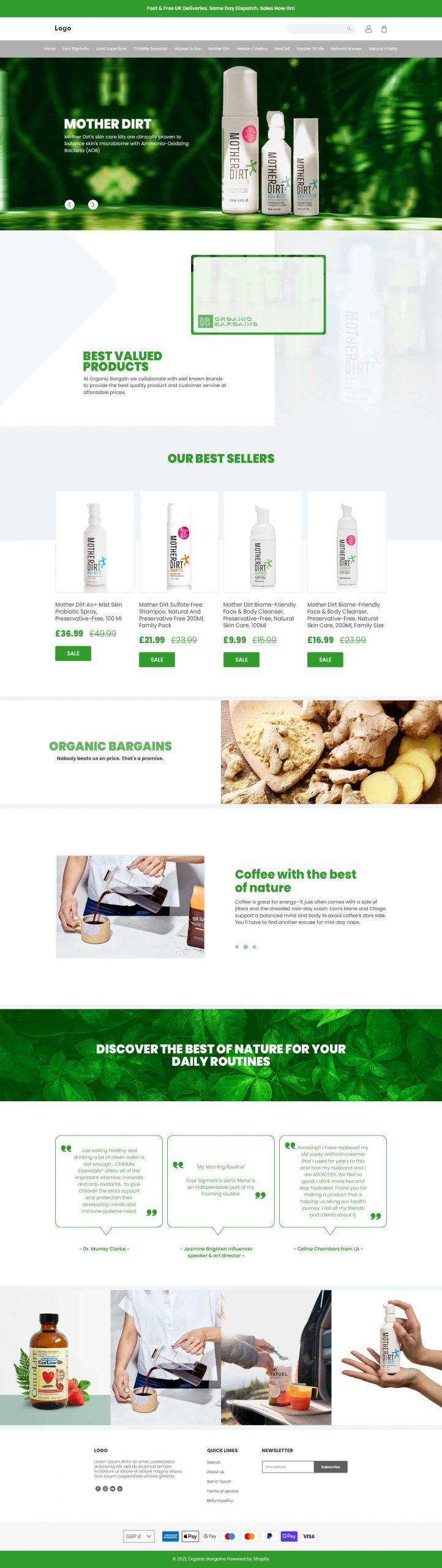 Organic Bargains